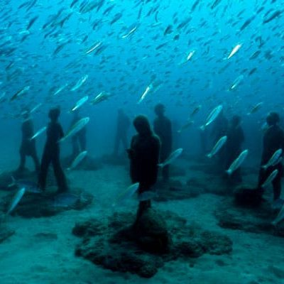 El primer museo submarino de Europa está en Lanzarote