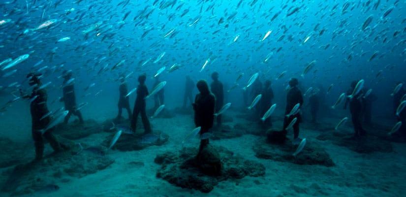 Primer museo submarino lanzarote