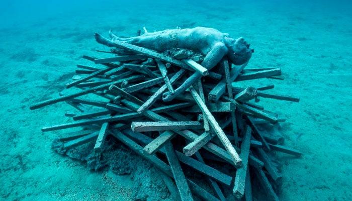 pira inmortal museo submarino lanzarote