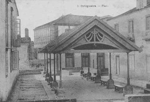 mercado ortigueira foto antigua