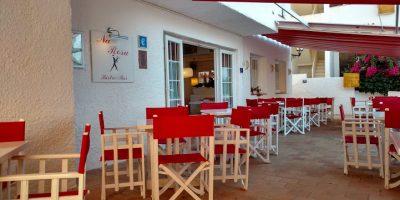 Comer Punta Prima Binibeca restaurante rosa