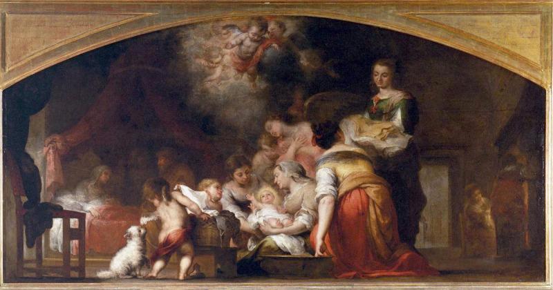 El Nacimiento de la Virgen de Murillo