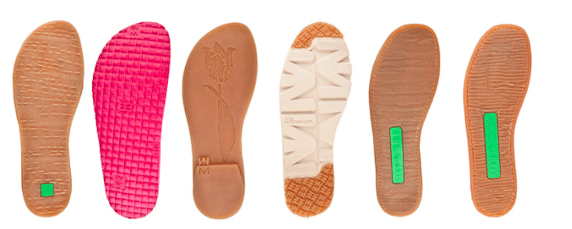 caucho moda sostenible
