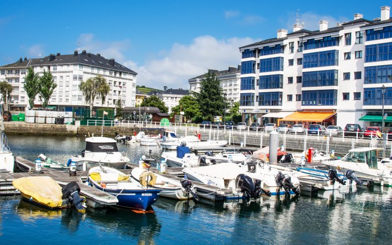 Navia en Asturias