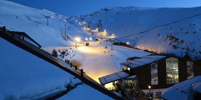 sierra nevada mas alla esqui
