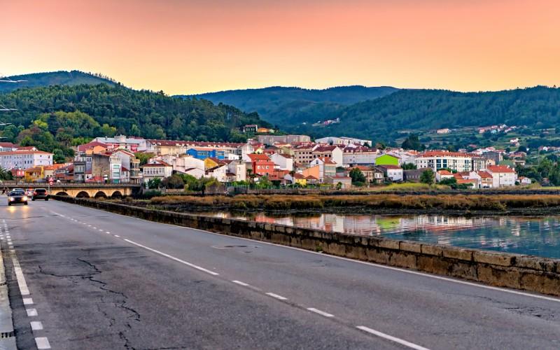 La villa de Noia está situada en plenas Rías Baixas