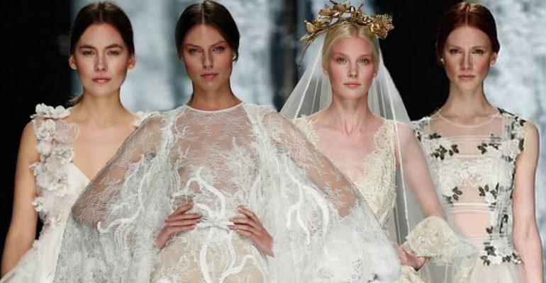 Atención novias, llega la semana de la moda nupcial