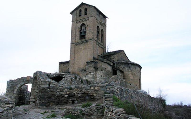 Iglesia de Nuestra Señora de Baldós en Montañana