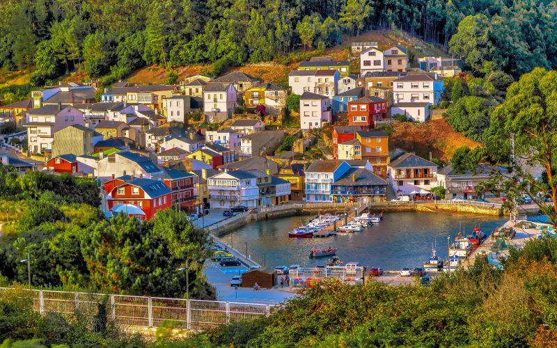 O Barqueiro es uno de los pueblos más bonitos de Galicia