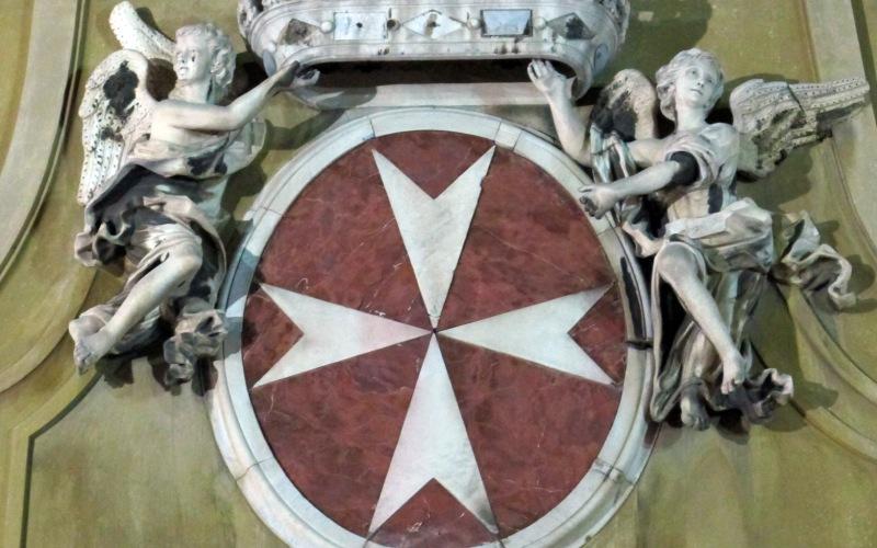Escudo de la Orden de Malta