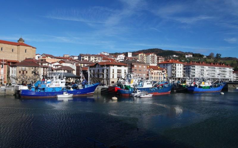 Orio y sus barcos pesqueros