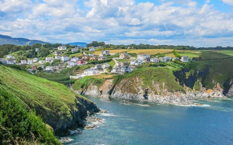 Ortiguera, una de las postales más bonitas de Asturias