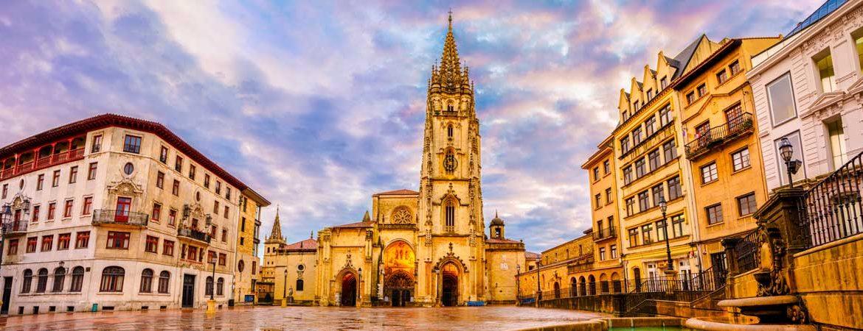 Panorámica que ver en Oviedo