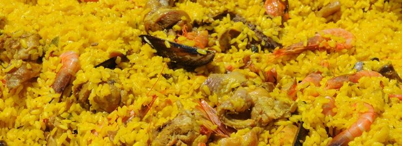 nuestra gastronomia paella
