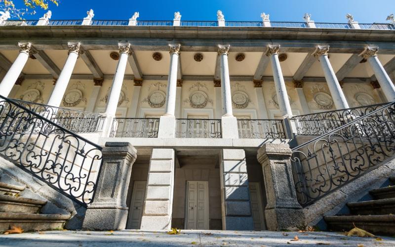 Palacio neoclásico de El Capricho