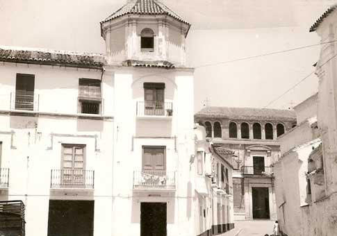 Foto antigua Palacio de Beniel Fundación María Zambrano