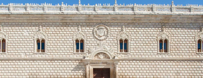 Frontal del palacio de Cogolludo