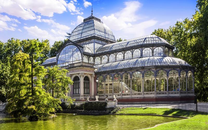 El Palacio de Cristal de Madrid