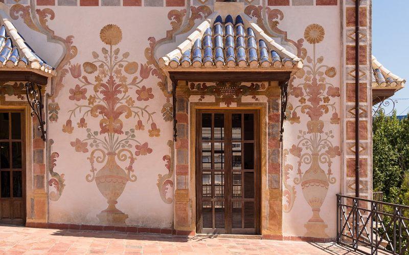 Balconadas del palacio ducal de Gandía