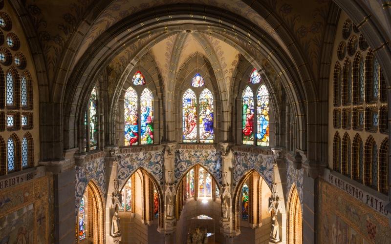 Una muestra del estilo de Iglesia que predomina en su interior