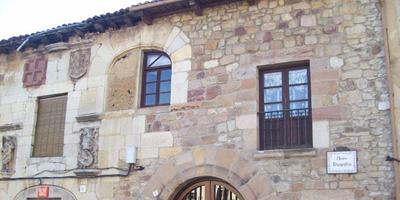 Fachada del Palacio Gutiérrez de Mier que hay que ver en Cervera de Pisuerga
