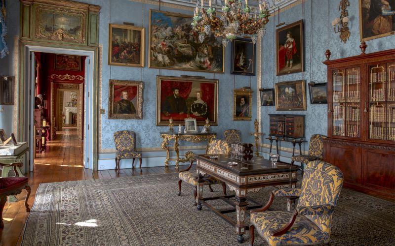 Salón Flamenco del Palacio de Liria