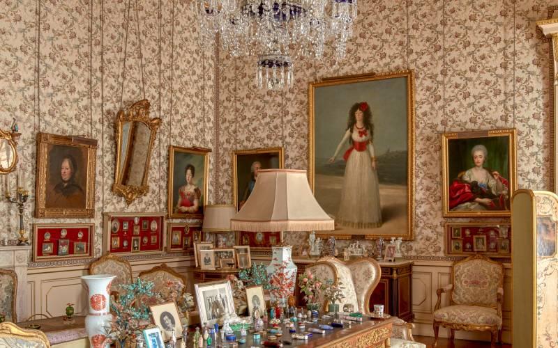 Salón de Goya del Palacio de Liria