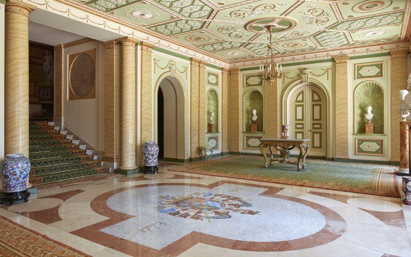 Zaguán del Palacio de Liria