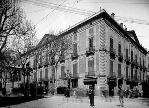 foto antigua palau moja barcelona