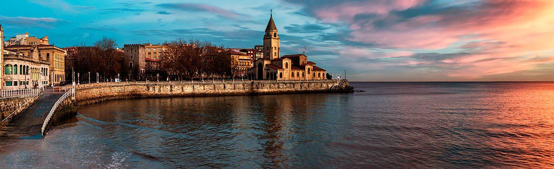 Dónde dormir en Gijón