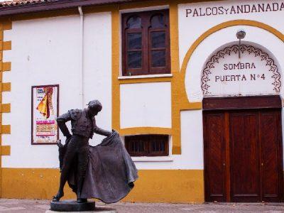 La plaza de toros de Cuatro Caminos en Santander