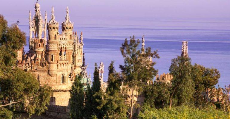 Castillo de Colomares, el homenaje más fantasioso a Cristóbal Colón