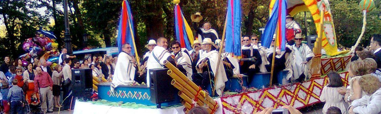 Desfile de America en Oviedo