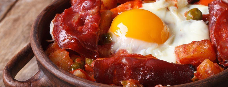 Uno de los muchos platos típicos andaluces