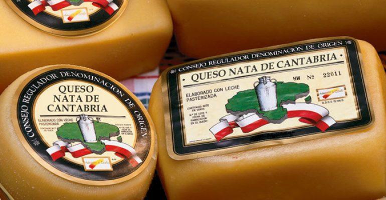 Queso Nata de Cantabria