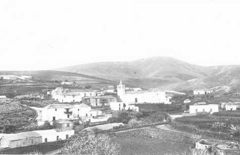 Antigua panoramica Betancuria