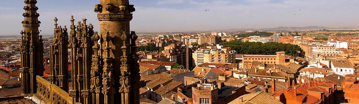 Dónde dormir en Huesca, Panorámica de Huesca