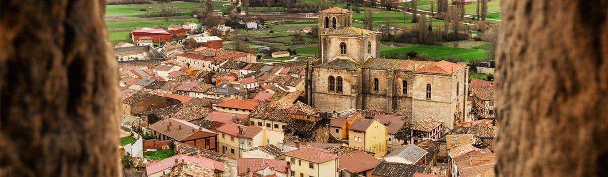 Panorámica del pueblo de Aranda de Duero