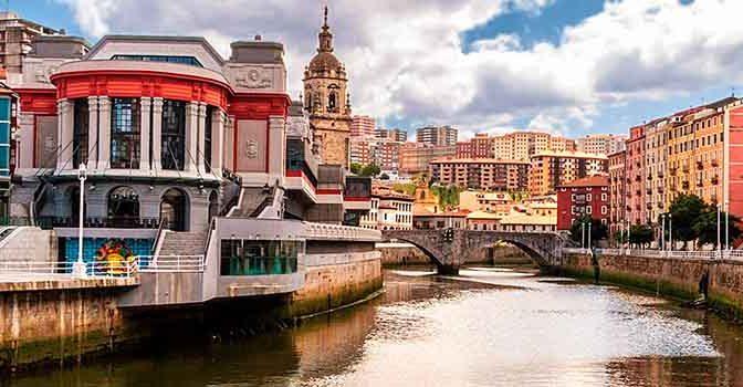 Dónde dormir en Bilbao Casco Viejo