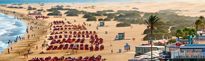dónde dormir en Playa del Inglés