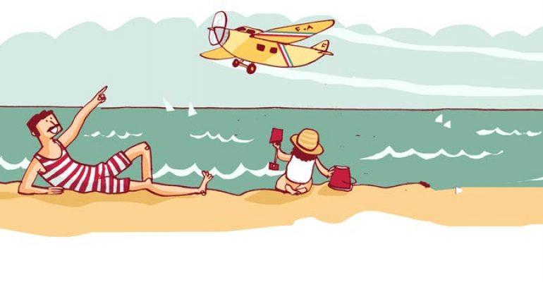 El pajaro amarillo y el primer polizón aéreo de la historia