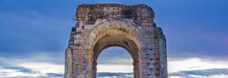 Cáparra monumentos romanos en España