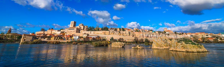 Panorámica que ver en Zamora capital