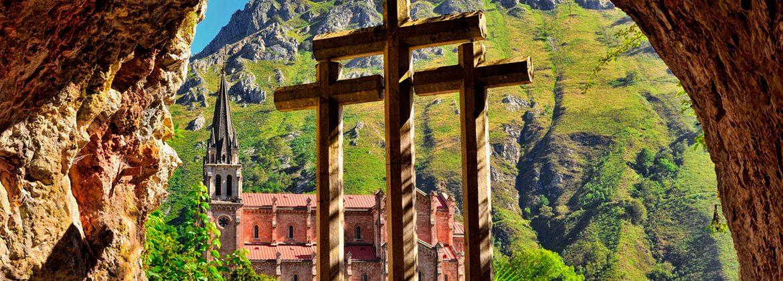 Panorámica que ver en Covadonga