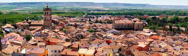 Panorámica de la ciudad de Dueñas