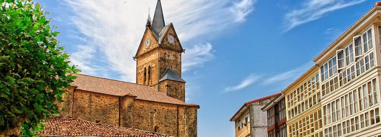 Panorámica del pueblo de Espinosa de los Monteros