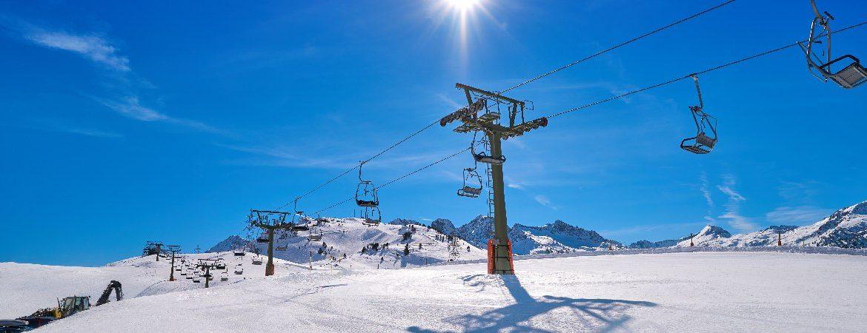 Telesilla de esquí en Baqueira_Beret