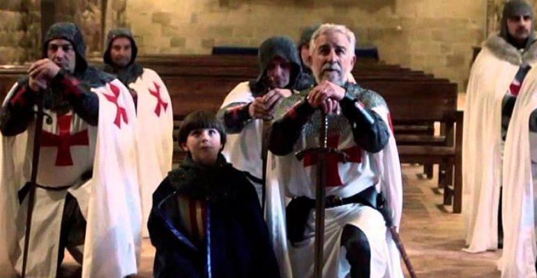Monzón / Homenaje a Guillem de Montrodón