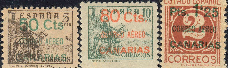 Filatelia y Numismática en Canarias