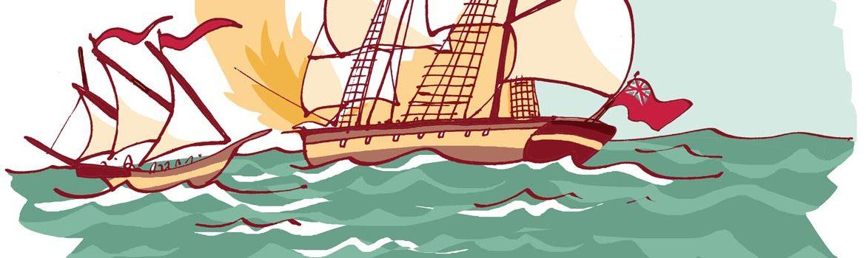 duelo de piratas ibiza